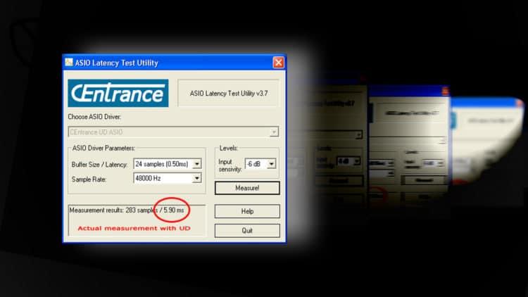 CEntrance - Asio Latency Test Utility