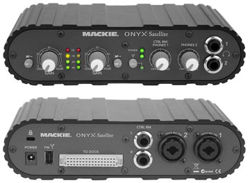 Mackie Satellite front / back