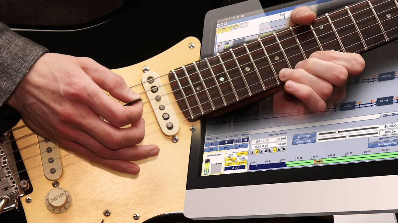 Tutorial: Gitarre am Computer aufnehmen ⋆ delamar.de