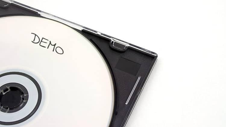 Demo-CD zusammenstellen