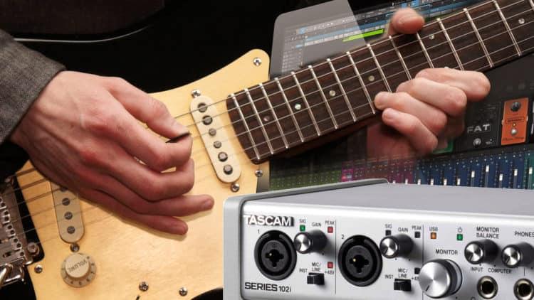 Gitarre am Computer aufnehmen