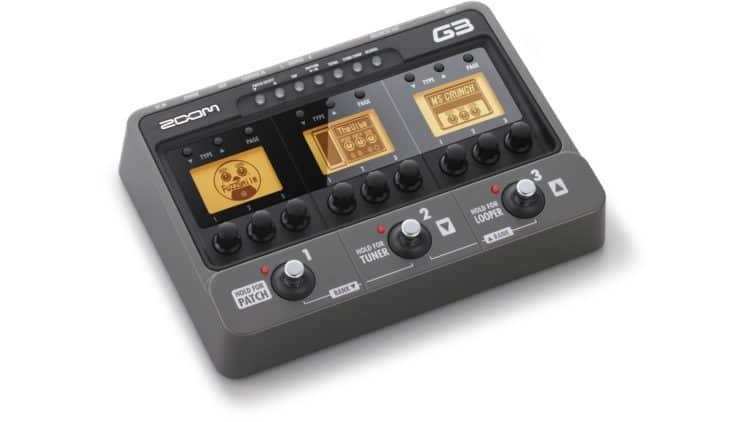 Gitarre am Computer aufnehmen: DI-Box, Effektprozessor & Soundkarte - Zoom G3