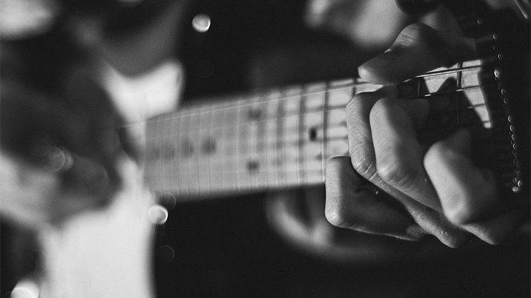 Gitarre aufnehmen