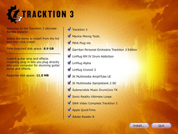 Mackie Tracktion 3