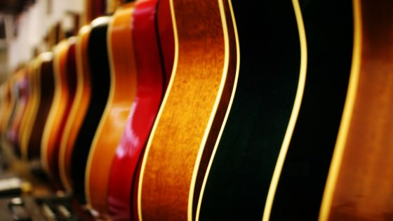 Gitarre kaufen im Laden