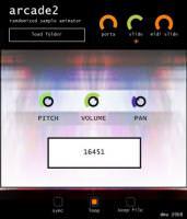 Free VSTi: arcade2 kostenloser Sample Player