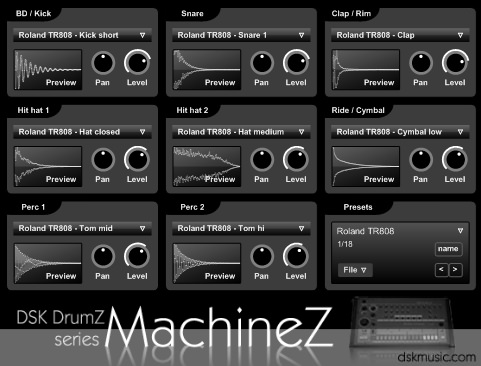 Free VST Plugin: Drum Machine