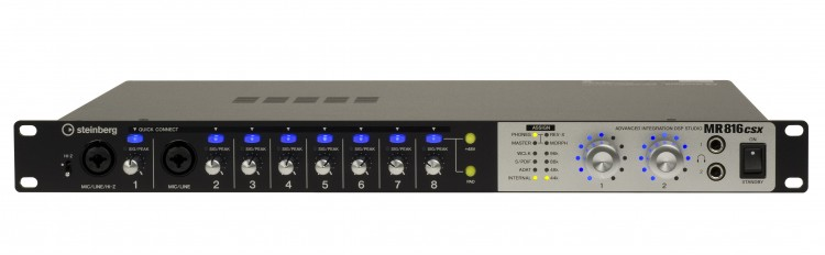 Steinberg MR816 CSX Audio Interface Video