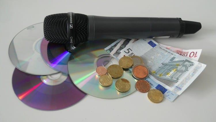 Was Musiker so an einer CD verdienen