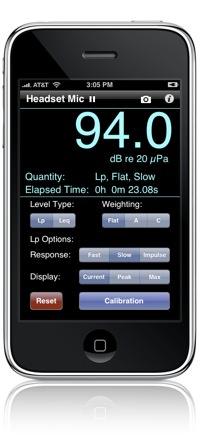 Faber Acoustical SoundMeter
