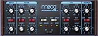 UAD Moog Multimode Filter: Screenshot