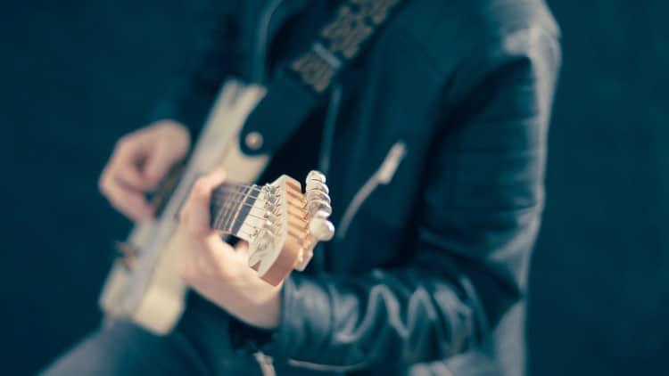 Panning für Gitarre