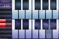 Noise.io: Startbildschirm