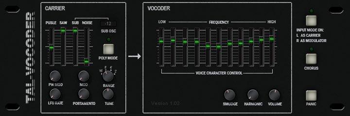 Free VST Plugins: Kostenloser Vocoder von TAL ⋆ delamar de