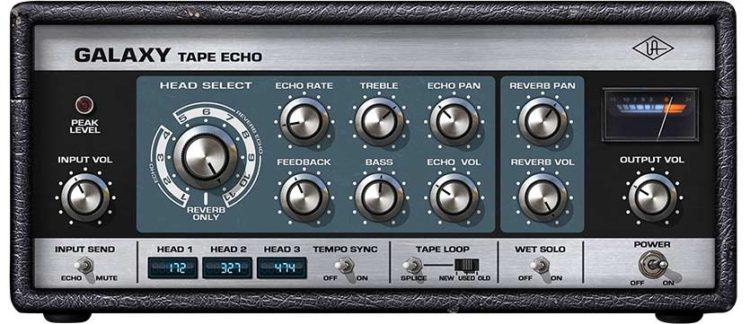 Software Delay - Universal Audio Galaxy Tape Echo