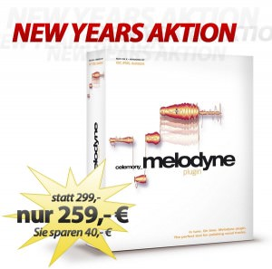 Melodyne Plugin Aktion