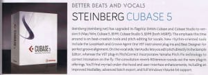 Steinberg Cubase 5