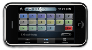 iPhone iPod Touch Cubase 5 Controller