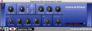 Filter aus der Novation Plugin Suite