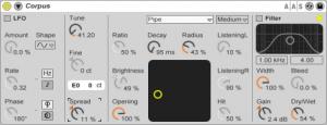 Ableton Live 8: Corpus