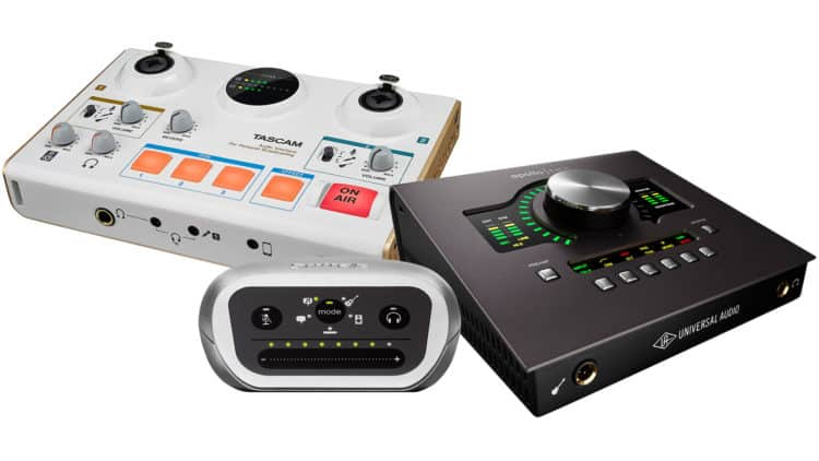 Audio Interface Bestenliste