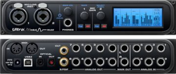 MOTU UltraLite mk4 - Bestes Audio Interface für elektronische Musik mit Outboard-Equipment