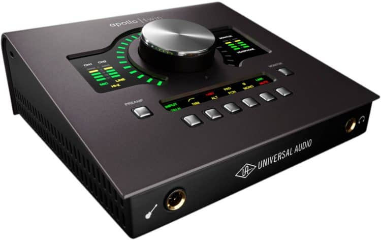 Universal Audio Apollo Twin mkII - Bestes Audio Interface für anspruchsvolle Solokünstler