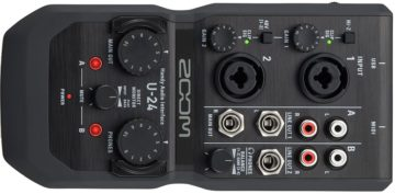 ZOOM U-24 - Beste Soundkarte für alle (einfachen) Fälle
