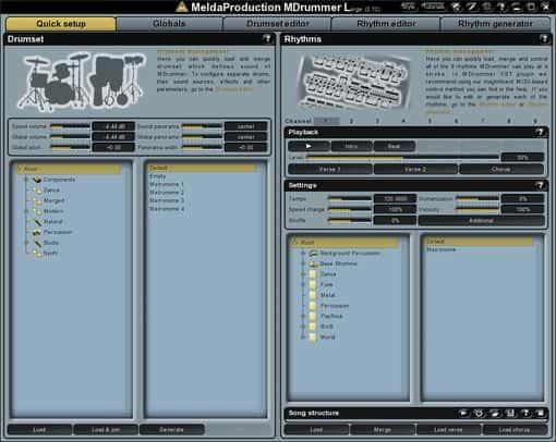 MDrummer virtuelles Drum free VST Plugin