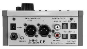 Rückansicht des TC Electronic BMC-2