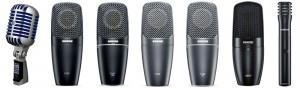 Shure: Sieben neue Mikrofone