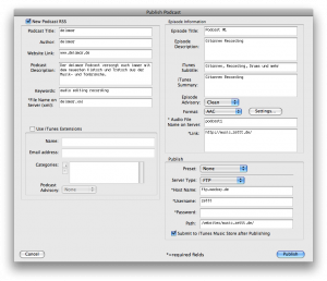 Bias Peak Pro Testbericht: Publish Podcast