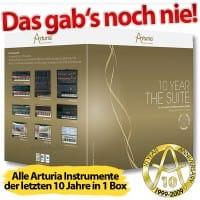 Jetzt sichern: Die Arturia 10 Year Suite