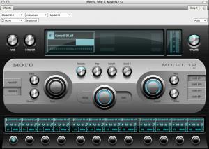 Model 12 - virtuelles Instrument in Digital Performer 6