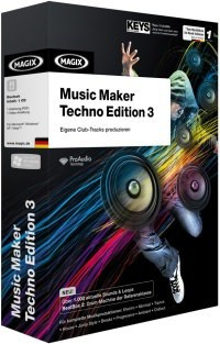 MAGIX Music Maker Techno Edition 3