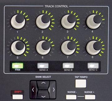 Track Control der Akai APC 40