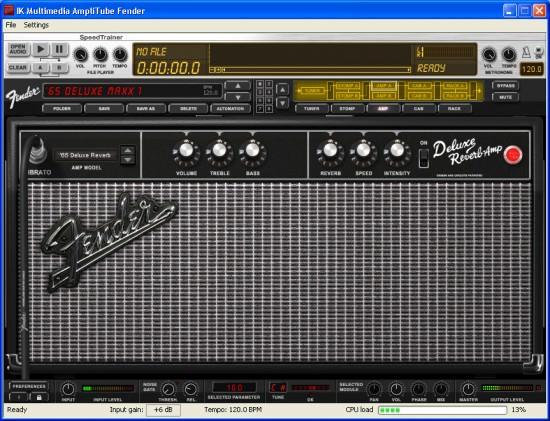 AmpliTube Fender: Der erste Eindruck