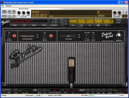 Mikrofonierung beim AmpliTube Fender