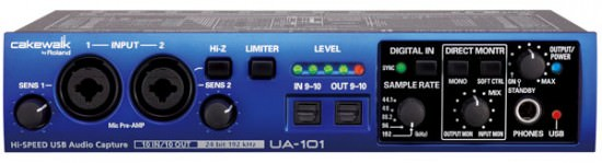 Cakewalk UA-101CW USB Audio Interface