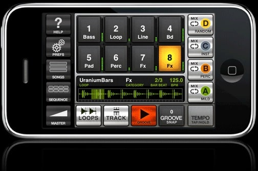 IK Multimedia GrooveMaker iPhone / iPod Touch Appp