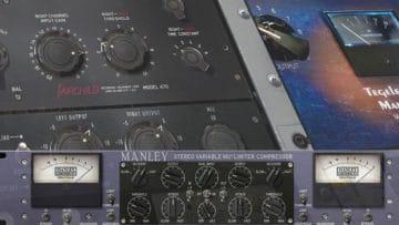 Kompressor beim Recording