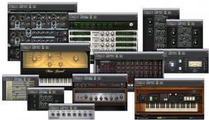 Digidesign Eleven Rack - Effekte und Instrumente