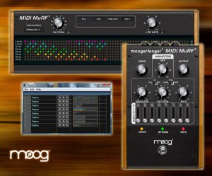 Moog MIDI MuRF Pattern Editor