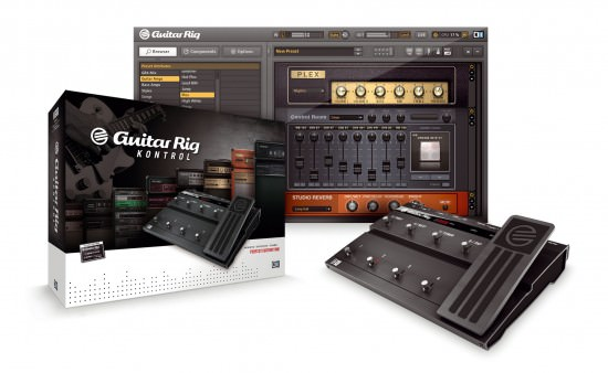 Guitar Rig 4 Pro Gitarrensoftware mit Hardware