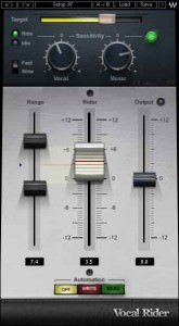 Waves Audio Vocal Rider