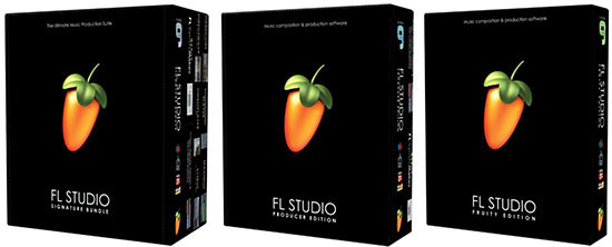 Boxed Version von FL Studio 9