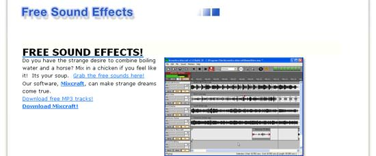 Feine Auswahl an kostenlosen Klängen bei Acoustica