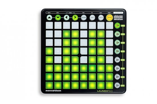 Novation Launchpad MIDI Controller Ableton Live 8