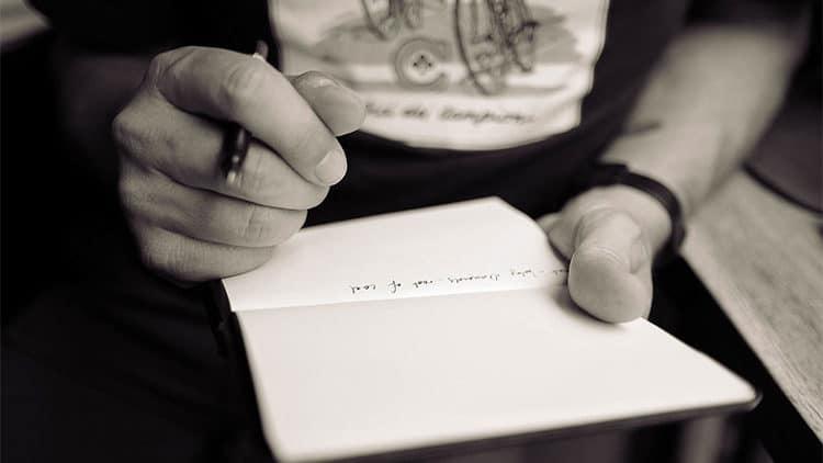 Schreibblockade beim Songwriting