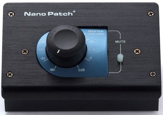 Passiver Lautstärkeregler SM Pro Audio Nano Patch+
